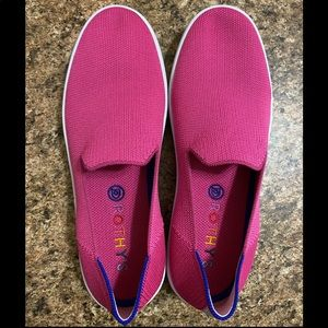 Rothy's Sneakers Bubblegum Pink - 9